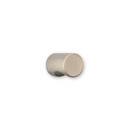 Bouton de Meuble Aluminium Diam 25 mm Argent