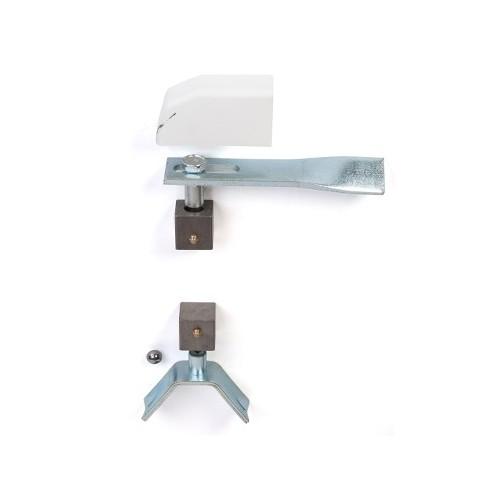 Pivots de portail pour tube de 30x30 mm -