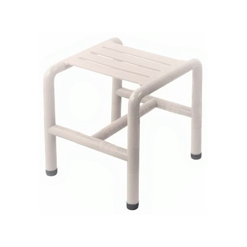 Tabouret simple / Nylon blanc