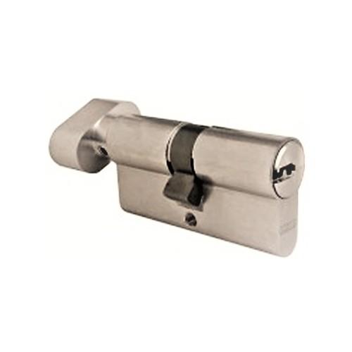 Cylindre à bouton - Clés réversibles -