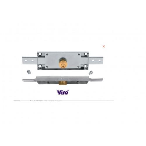 VIRO - Serrure Rideau Roulant 155 X 55 mm.S'entrouvrant . Code 322 8231 KA.