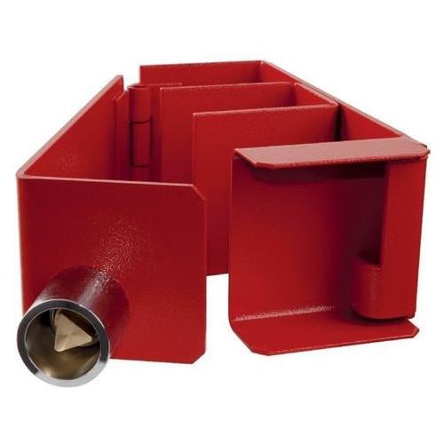 Cravate d'échelle rouge pour clé Triangle de 14 . Code 1454 CPEG .