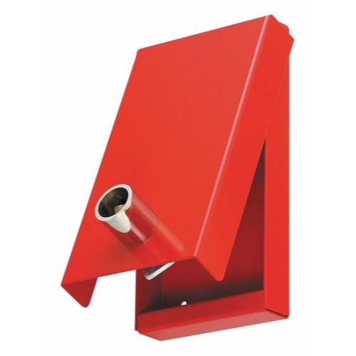 Boite a Cle Pompier rouge. Triangle de 14. Code 1453 BPPEG .